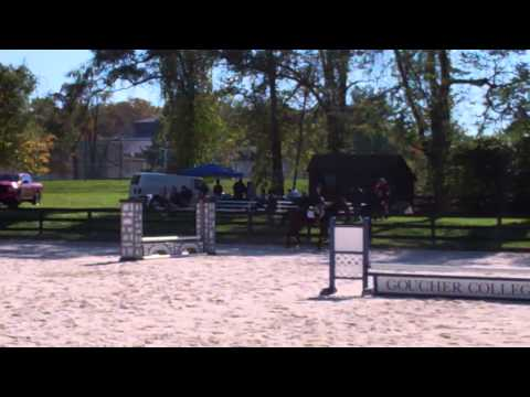 Moriah Patashnik's Winning Round in Novice Fences - 10/26/13