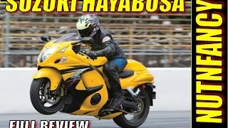 8. Review of Suzuki Hayabusa: Fastest Production Bike