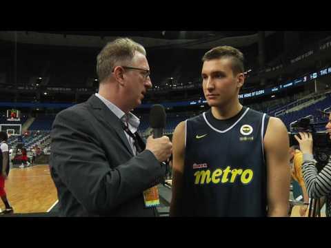 Pre-game Interview: Bogdan Bogdanovic, Fenerbahce Istanbul