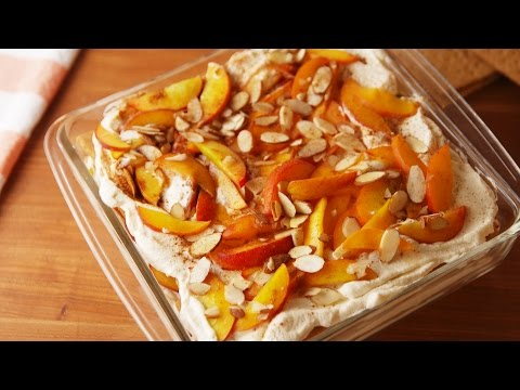 Peaches 'n Cream Lasagna | Delish