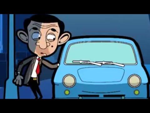 Blue Car   Funny Episodes   Mr Bean Cartoon World