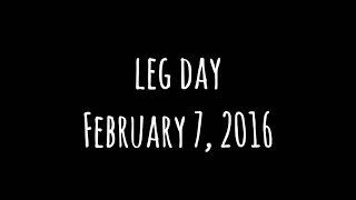 VLOG 1   CRIPPLING LEG DAY
