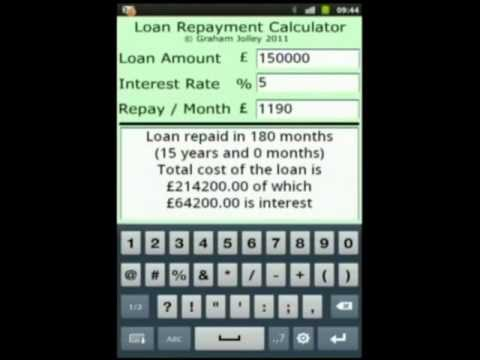Video of Loan Repayment Calculator