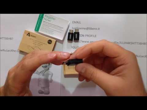 Type C adattatore Aukey micro-usb to type c