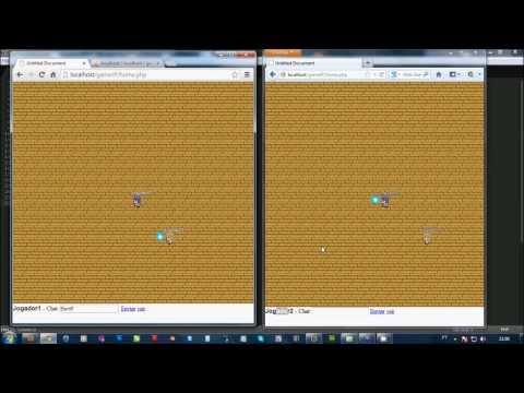 Multiplayer online game browser com PHP, MYSQL e  JQuery. DEMO