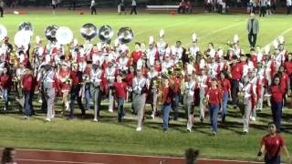 Cleveland (TX) United States  city photos gallery : Cleveland Texas Band halftime Falcons vs Indians