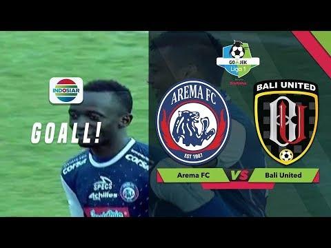 Video Gol Makan Konate - Arema FC (3) vs (1) Bali United   Go-Jek Liga 1 Bersama Bukalapak download in MP3, 3GP, MP4, WEBM, AVI, FLV January 2017