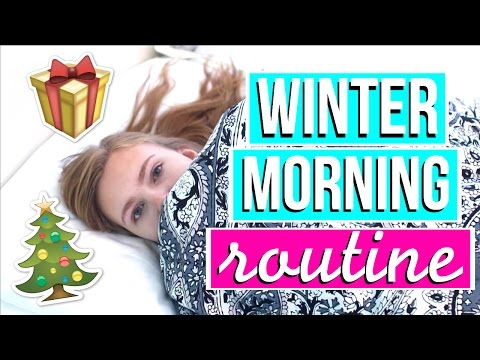 Winter Morning Routine 2016-2017!