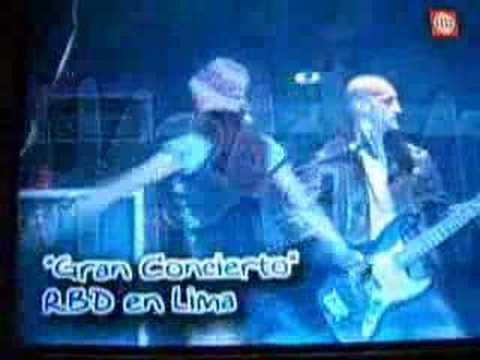 Imágenes del concierto de Rebelde en Perú