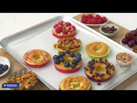 Apple peanut butter 'donuts' thumbnail 3