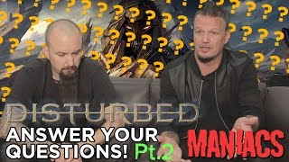 While they were in Australia on their recent tour, Disturbed answered a bunch of questions from their fans!Part 1 https://youtu.be/ohceGzAl68U Listen to Disturbed's latest album Immortalized now https://WMA.lnk.to/DisturbedImmortalizedLY