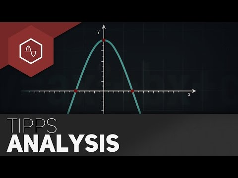 Analysis - Facebook: www.facebook.com/TheSimpleMaths Webseite: www.thesimplemaths.de Dir gefällts? Dann drück auf den kleinen grünen Daumen und teile das Video! :-) ---...