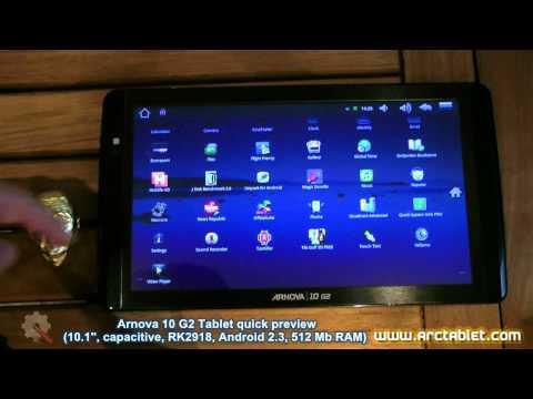 Arnova 10 G2 tablet review (RK2918, 10.1