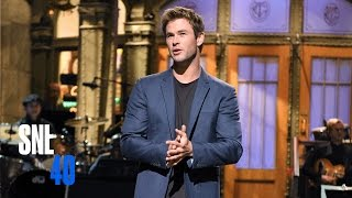 Video Chris Hemsworth Monologue - Saturday Night Live MP3, 3GP, MP4, WEBM, AVI, FLV April 2018