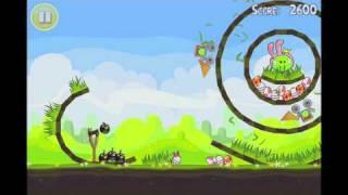 Angry Birds Seasons Golden Egg 17 Walkthrough Easter Eggs