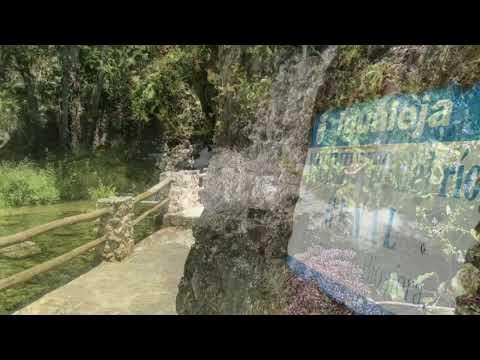 Nacimiento del río Genal en Igualeja. Rincón singular