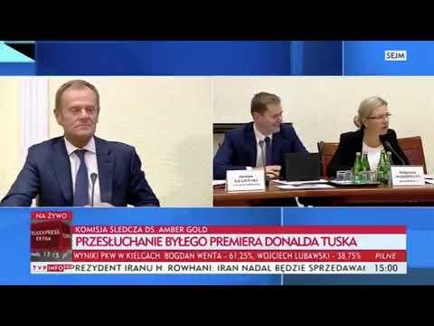 Tusk dzisiaj rozjechał walcem komisje śledzą !