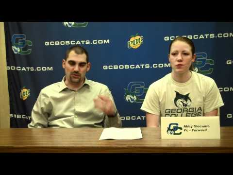 Bobcat Women's Basketball Post-Game Jan. 22