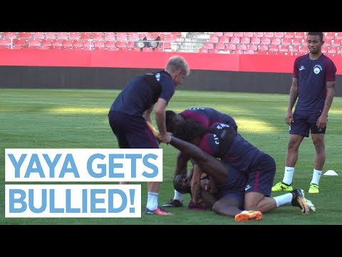Video: MENDY RETURNS & YAYA GETS BULLIED! | City Training in Girona
