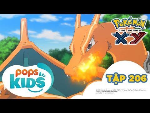 Pokémon Tập 206 - Sức Mạnh Tối Thượng Của Tiến Hóa Mega I - Hoạt Hình Tiếng Việt Pokémon S17 XY - Thời lượng: 24:58.