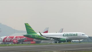 Download Video Take Off Bandung Pesawat Citilink Indonesia di Bandara International Husein Sastra Negara MP3 3GP MP4