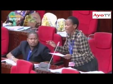 Mbunge wa Muleba Kusini Prof Tibaijuka amepinga  sheria ya kuwafunga wananchi miaka mitatu kwa kukosa risiti