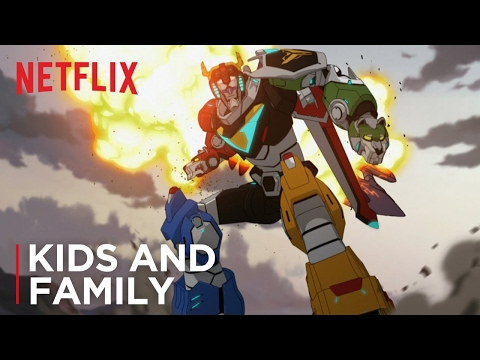 The Voltron Legendary Defender Official Trailer Is Finally