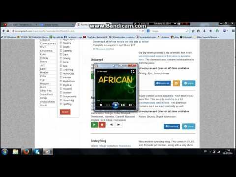 Wie kann man sich Lizensfreie und kostenlose Musik Downloaden Tutorial
