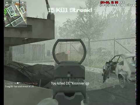 COD:MW 20+ killstreak