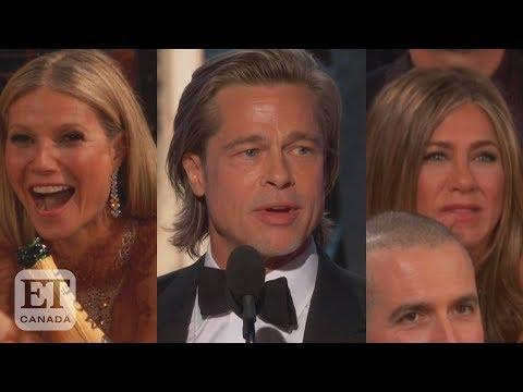 Brad Pitt Talks Jennifer Aniston At Golden Globes