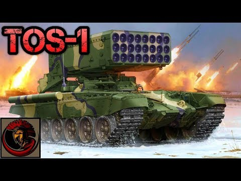 Russian TOS-1 Heavy Flame Thrower Missile System
