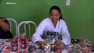Atleta vende rifa para disputar o Pan-Americano de Karatê na Colômbia