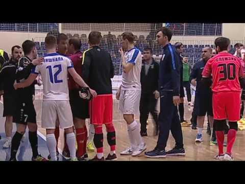 ◄ЛМ► МФК «Тюмень» - «Газпром-Югра» - 4:2. 4-й матч. Потасовка