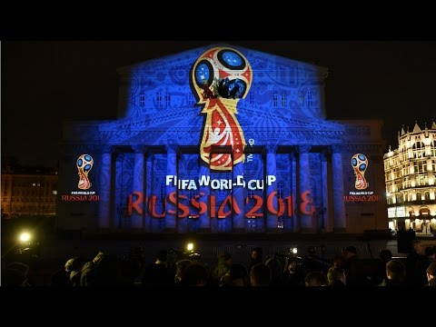 The Dazzling Unveiling Of The Russia FIFA World Cup 2018 Logo