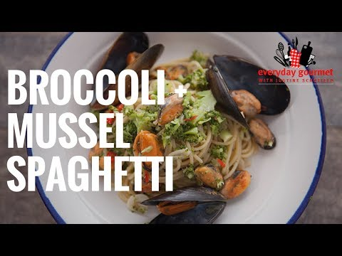 Tefal Broccoli and Mussel Spaghetti | Everyday Gourmet S6 E73