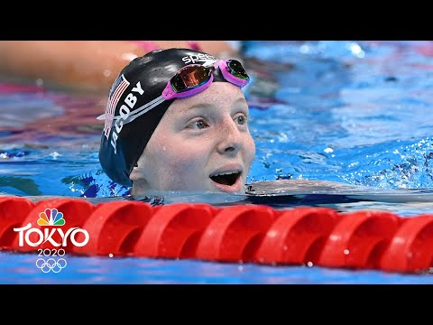 Lydia Jacoby earns stunning 100m breaststroke gold, beats Lilly King | Tokyo Olympics | NBC Sports