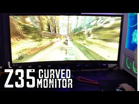Acer Z35 Predator 35-Inch Curved GSYNC 3D Monitor Review