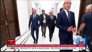 """Brawo! Tak należy traktować """"reporterów"""" pisowskiej propagandy."""