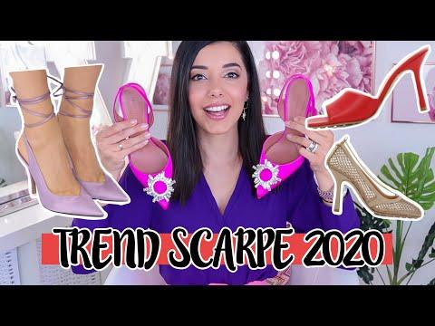 TENDENZE SCARPE 2020! LE SCARPE PIÙ TRENDY PER LA PRIMAVERA ESTATE 2020! | … видео