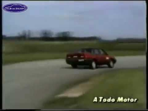 Tests Históricos de A Todo Motor - Ford Galaxy 1992 Ghia