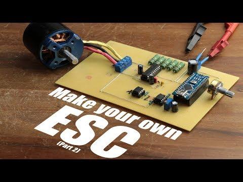 Make your own ESC || BLDC Motor Driver (Part 2)