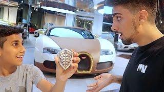 The Kid who Gave me a Bugatti ...