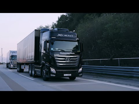 Hyundai Motor Demonstrates Autonomous Driving Tech Capabilities with First Successful Truck Platooning Trial