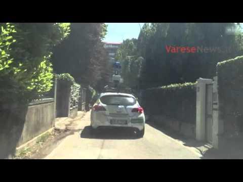 La Google car a Varese