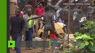 Les inondations et les coulées de boue au Sierra Leone ont fait 450 morts et contaminé les sources d'eau potable. Tandis que le choléra et la malaria guettent, ...