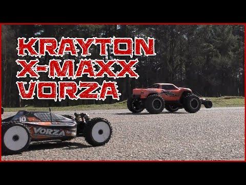 Arrma Krayton vs Traxxas Xmaxx vs HPI Vorza