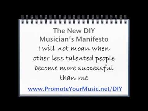 The New DIY Musician's Manifesto (Music Makes Us Remember!)