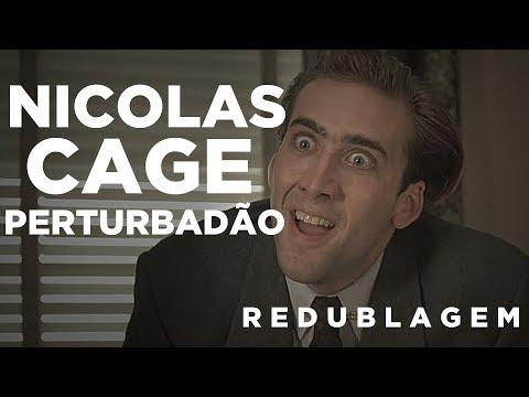 Nicolas Cage Pertubadão (Paródia Redublagem)