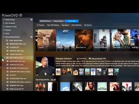 Movie Player Software & Media Panel | CyberLink PowerDVD