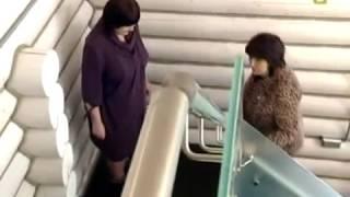 Лестница с цельносварным металлокаркасом